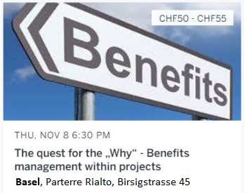 "The quest for the ""Why"" - Benefits management within projects"