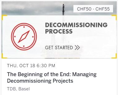 The Beginning of the End: Managing Decommissioning Projects