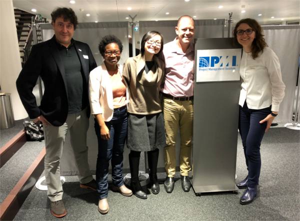 Some of the Swiss PMI EF team members
