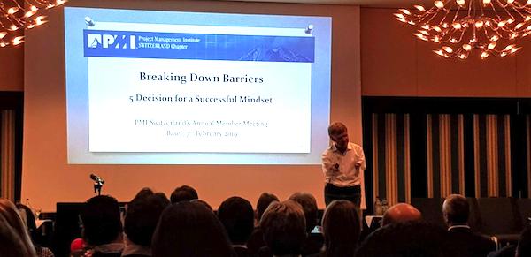 Matthias Berg presents Breaking Down Barriers