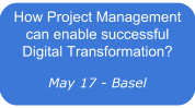 How Project Management can enable successful enterprise Digital Transformation?